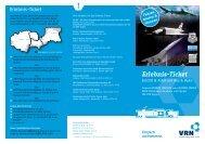 Erlebnis-Ticket - Verkehrsverbund Rhein-Neckar