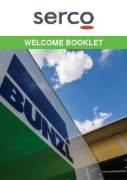 Serco - Welcome Booklet 281116