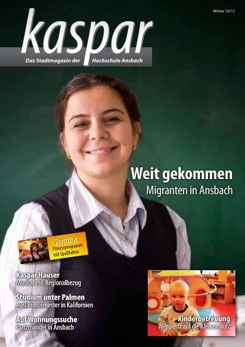 Kaspar Hauser - Hochschule Ansbach