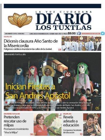 diario los tuxtlas 28 de nov de 2016