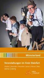 Veranstaltungskalender 2012 - Kreis Steinfurt