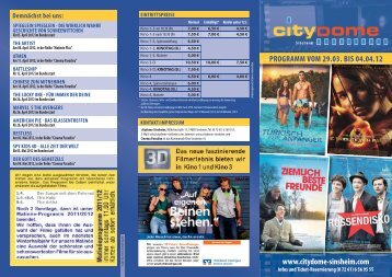 www.citydome-sinsheim.com PROGRAMM VOM 29.03 ... - Cineprog