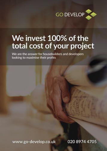 Go Develop Joint Venture Land & Build Funding