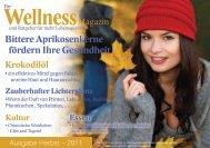 Ihr Wellness-Magazin: PDF-Magazin Ausgabe Herbst 2012