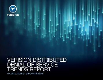DENIAL OF SERVICE TRENDS REPORT