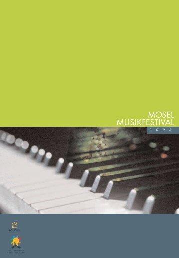 Samstag 20 Uhr - Mosel-Musikfestival