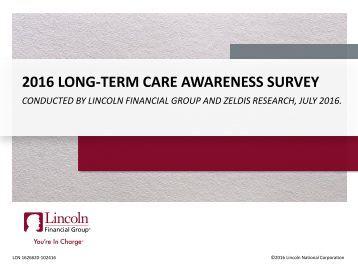 2016 LONG-TERM CARE AWARENESS SURVEY