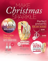 December Christmas catalogue PDF Showcase Jewellers Te Awamutu