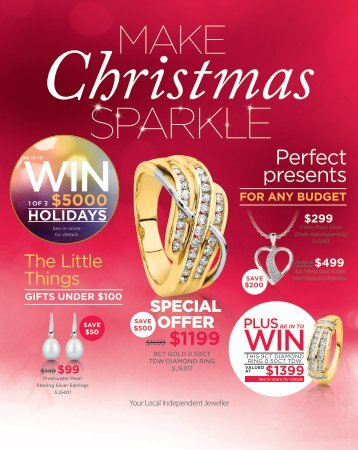 December Christmas catalogue PDF Showcase Jewellers Te Awamutu