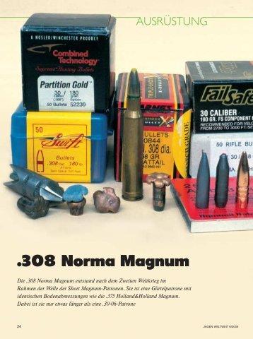 .308 Norma Magnum - Jagen Weltweit
