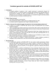 Condizioni generali di contratto di SCHOELLKOPF AG