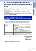 Sony NEX-5R - NEX-5R Guida all'uso Ungherese - Page 5