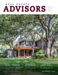 The Real Estate Advisors Magazine - December 2016
