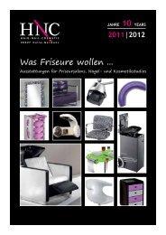 Was Friseure wollen ... - HNC Vertriebs GmbH