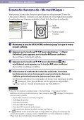 Sony NWZ-E463HK - NWZ-E463HK Istruzioni per l'uso Francese - Page 7
