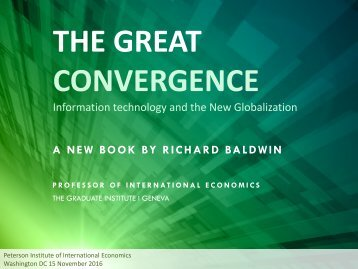 THE GREAT CONVERGENCE