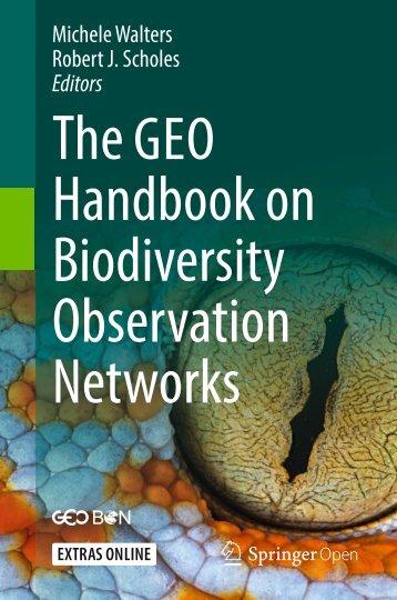 GEOBON Handbook 2016