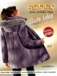 Каталог Bader Gute Idee осень-зима 2016. Заказ одежды на www.catalogi.ru или по тел. +74955404949