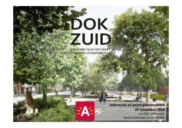 DOK ZUID_Presentatie ontwerpteam_Evenementen_2016-11-26_Participatie