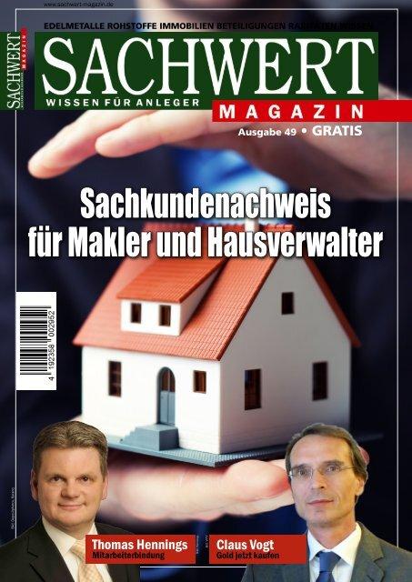 Sachwert Magazin Ausgabe 49