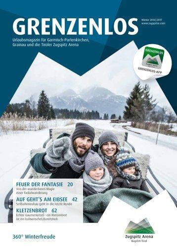 Gästemagazin Grenzenlos Winter 2016/2017