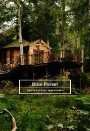 Blue Forest Luxury Tree House Brochure 2016