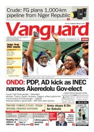 ONDO: PDP, AD kick as INEC names Akeredolu Gov-elect