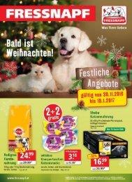 Dezember-Angebote bei Fressnapf