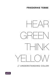 Hear Green, Think Yellow: Understanding Color