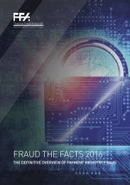 FRAUD THE FACTS 2016