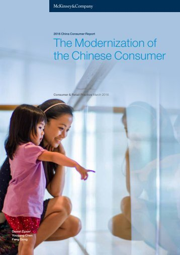 The Modernization of the Chinese Consumer