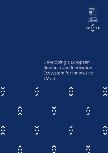 Developing a European Research and Innovation Ecosystem for Innovative SME´s
