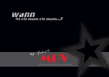 MGV-Friedburg Broschüre Männer