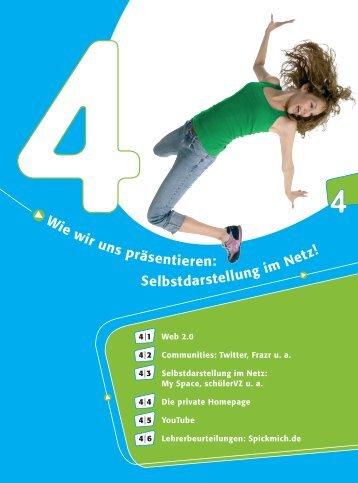 wir uns präsentieren: Selbstdarstellung im Netz - Klicksafe.de