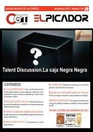 Talent Discussion.La caja Negra Negra