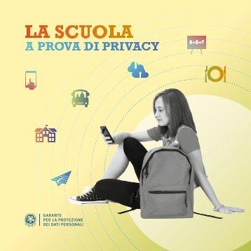 Vademecum - La scuola a prova di privacy- Anno 2016