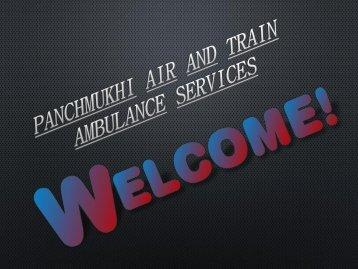 Panchmukhi air and train ambulance services Allahabas-Srinagar