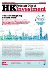 The First Hong Kong FinTech Week this Issue