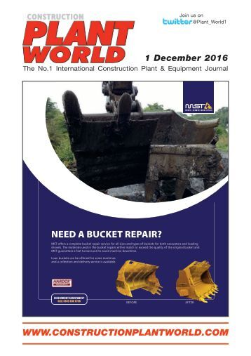 Construction Plant World 1st December 2016