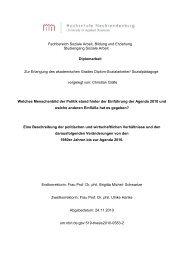 Fachbereich Soziale Arbeit, Bildung und Erziehung Studiengang ...