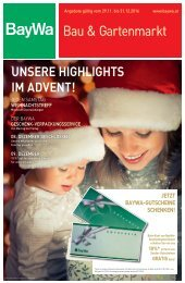 BayWa - Highlights im Advent