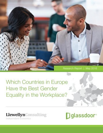 Which Countries in Europe Have the Best Gender Equality in the Workplace?
