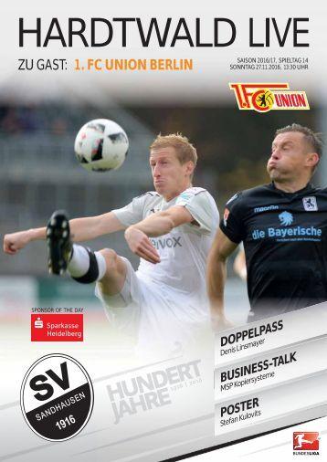 Hardtwald Live, Nr. 8, Saison 2016/17