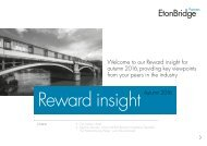 Reward insight