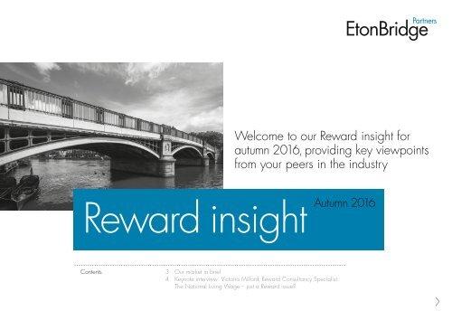 Reward insight