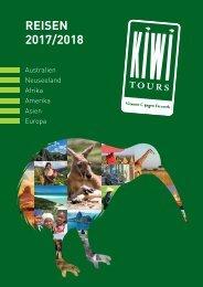KIWI TOURS Reisen 2017/2018