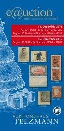 Auktionshaus Felzmann - Auktion-1012 - Philatelie