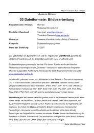 03 Dateiformate: Bildbearbeitung - Mediaculture online