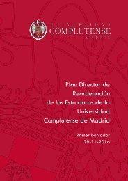 Reordenación de las Estructuras de la Universidad Complutense de Madrid