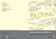 Medienkompetenz macht Bildung - Mediaculture online